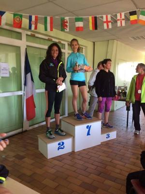 Podium scratch féminines 2016