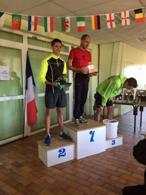 Podium scratch masculin 2016